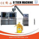 Wood Packaging Material and Electric Driven Type bottle oil filling capping and labeling machine