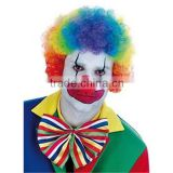 Affordable Afro Clown Hair Football Fan Adult Child Costume Curly Wig UR