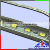 Waterproof Aluminum Aquarium LED Rigid Bar Strip, SMD5630 DC12V 4.8W 60PCS/M dustproof 5630 led rigid strip light