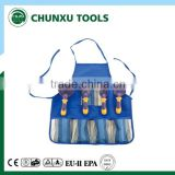 kids cartoon garden tools set with apron
