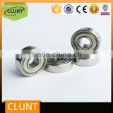 Micro mini bearing miniature deep groove ball bearing R144 for Medical dental handpiece with 3.175*6.35*2.38mm