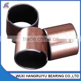 corrosion resistance bronze alloy based self - lubrication bearing bushings 25 * 28 * 30 mm bore used in spiral conveyer machine