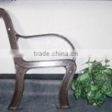 Cast iron bench frame, bench legs, outdoor park bench legs