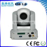 HD camera video conferencing equipment with 360 degree PTZ camera with USB3.0 output KT-HD30D3U