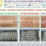 LOBSTER SHRIMP SUSHI FROZEN EBI BLACK TIGER SHRIMP VANNAMEI NOBASI IQF BREADED TORPEDO BUTTERFLY FROZEN LOBSTER TIDA KIM
