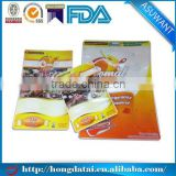 custom size three side seal plastic bag with round corner for soup seasoning