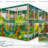 Cheer Amusement jungle theme Mobile Play Center children commercial indoor playground equipment