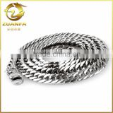 wholesale good quality factory price men stainless steel chain necklace