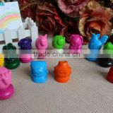 3D crayons(animal finger crayons, bright color crayon)