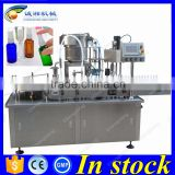 CE certification automatic piston pump filling machine,20ml aerosol spray filling machine