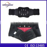 2016 self heating leather back lumbar support brace