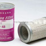 DR/HR Line Filter Blocks and SX suction Filter Cores