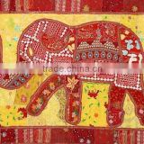 Buy Home Decor Handmade Embroidered Cotton Wall hanging