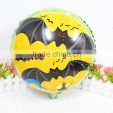 New arrivals 45*45 cm Halloween bats balloons for Halloween party decoration globos, foil helium balloons for classic toys