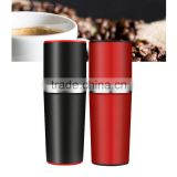 portable coffee maker,travel coffee maker,manual coffee maker,pocket coffee machine/maker, hand coffee machine for traveling, cl