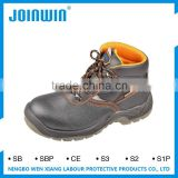 Anti-Puncture Slip Anti Static Suede Leather Safety Shoes