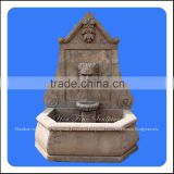 Garden Stone Water Lion Head Natural Stone Fountain