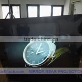 DEFI best price 15square meter(1.27m*11.85m) white front projection films stick on glass