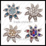CJ2342 New fancy metal button, alloy metal press stud buttons, leather button jewelry