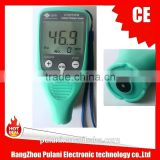 Coating Thickness Gauge for measuring the Plastic film thickness on metal