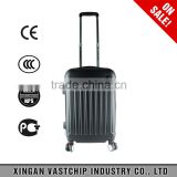 Reasonable price, ABS hard shell side trolley travel luggage suitcase carry-on spinner wheels