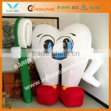 2013 cute inflatable teeth/ inflatable model for decorations hot sale