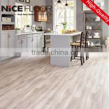 german technology high grade waterproof brushed oak laminate flooring AC4 barefoot friendly