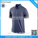 Short Sleeves Blue Cotton Polyester Men Embroidery Custom Dri Fit Polo T Shirt                                                                         Quality Choice