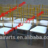 shanghai commercial furniture wholesale event rental metal tiffany stacking chiavari chair