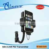 mini fm transmitter car kit with cell phone holder mp3 toy car