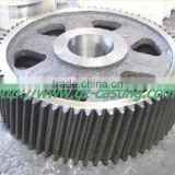 2015 Alibaba hot sale Guanzhou casting foundry OEM&customized steel casting parts steel precision small gear wheel