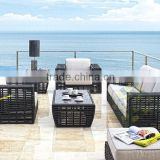 Bamboo wicker style outdoor furniture