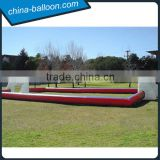 outdoor exciting inflatable football game,inflatable soccer court,high quality