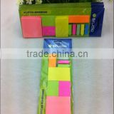 neon erasable sticky note with hardcard