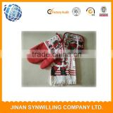 Kitchen Hotel Washcloths Santa Claus Snowman Ornament Party Gifts Christmas Towels Cotton Kitchen towel set