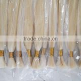 Sold well in Brazil,Russia,Turkey 613# full culticle blond human hair bulk,45cm-70cm available