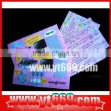 Prepaid Scratch Card for Lottery Ticket