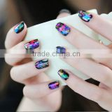 2014 New Design cosmetic Nail art polish stickers brush tool for chemicals for removing painting