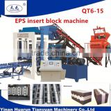 concrete block making machine for polystyrene insulated wall building