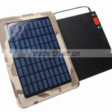 Auto/apple/notebook mobile power 6 W solar lithium ion battery charger 54000MA
