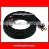 component coaxial 5 RCA to 5 RCA video and audio cable