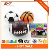 Soft pu material sponge ball baby sport ball toy