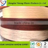 Roma quality living room furniture plastic shelf edge pvc edge banding tape