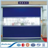 Wuxi Chemical industry fast moving fast roller door, pvc fabric fast roller door;Security Industrial Fast-lift Roller Door