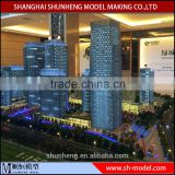 3D rendering architectural design model / Custom miniature architectural scale model for commercial plaza