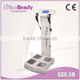 High Quality Professional GS6.5 Human Body Analyser Scale , Human Body Composition Analyser