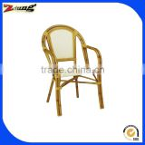 ZT-1096C high back garden bamboo chair furniture