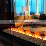 3D fake modern decor flame electrical fireplace