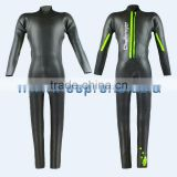 Accept made to specially tailored Neoprene Triathlon Wetsuit For Coating CR and Black color