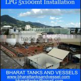LPG 5x100mt Installation